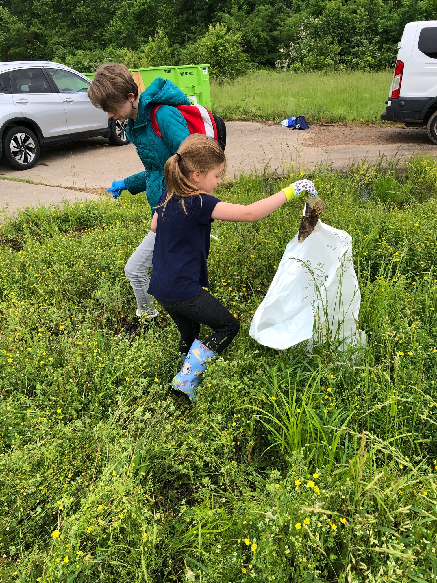 5.4.19 Nonconnah Creek Conservancy clean-up and trail blazing