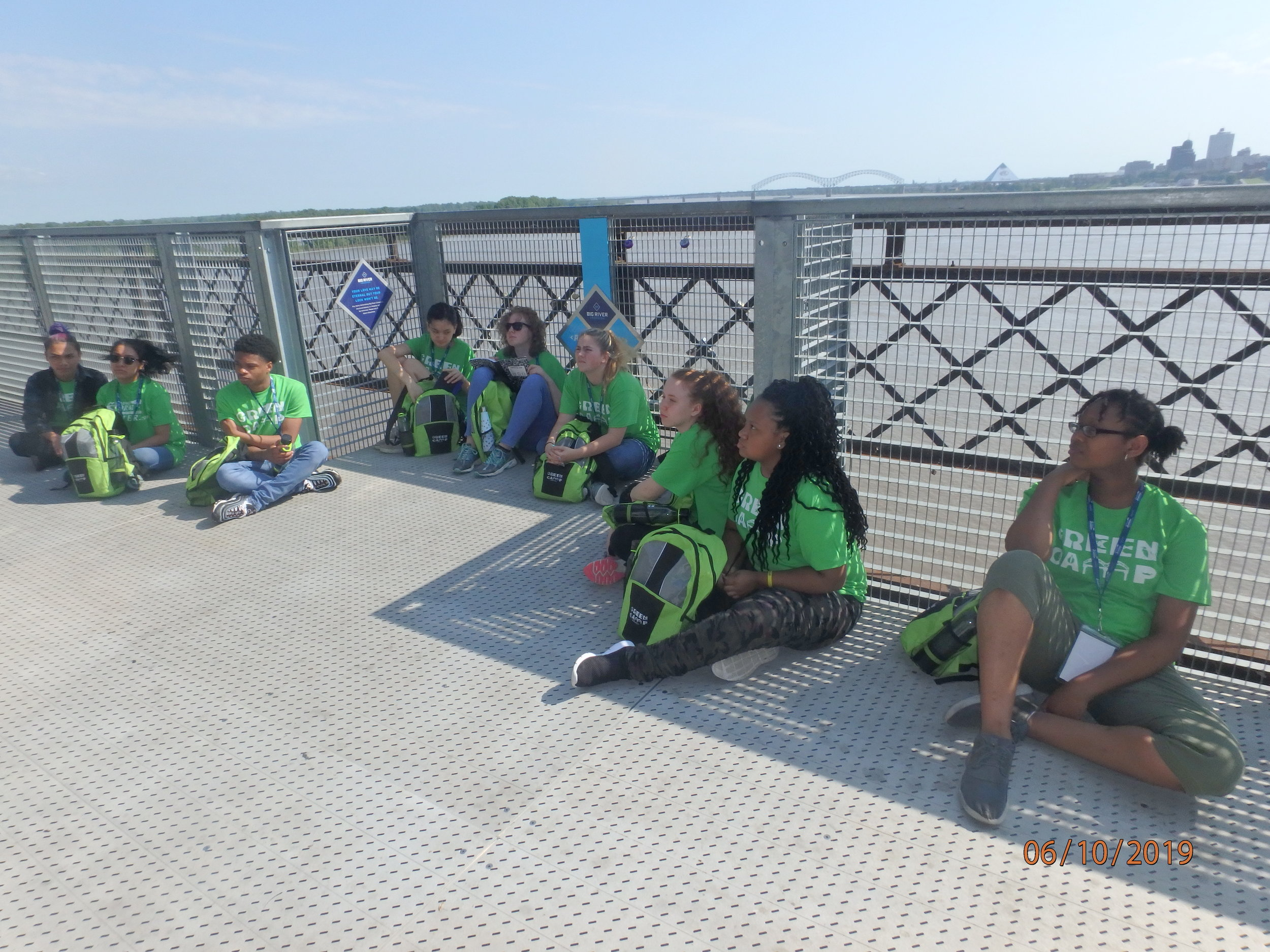 Day 1: Harahan Bridge, Development of Riverfront