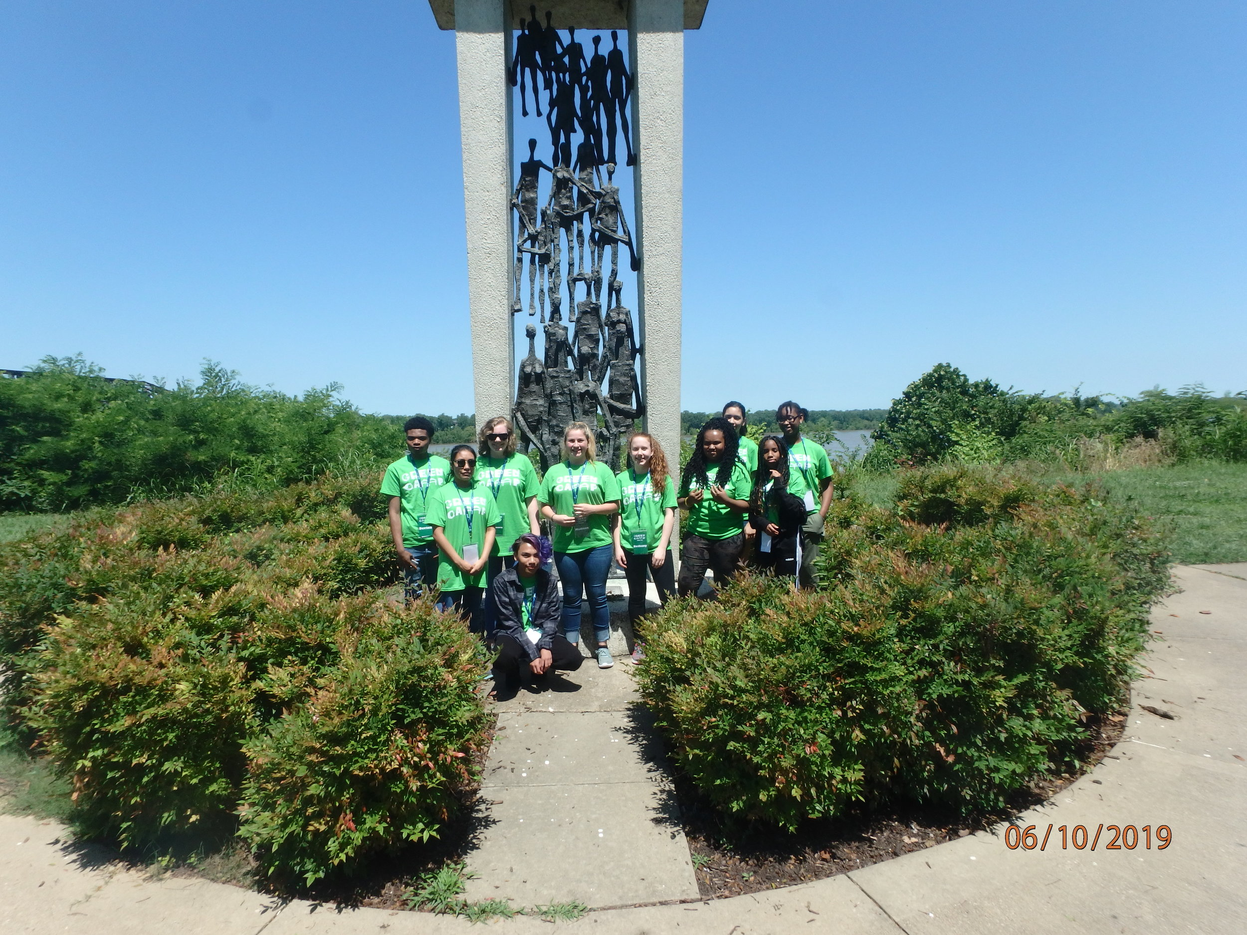Day 1: Martyr Park, Memphis and MS4 history