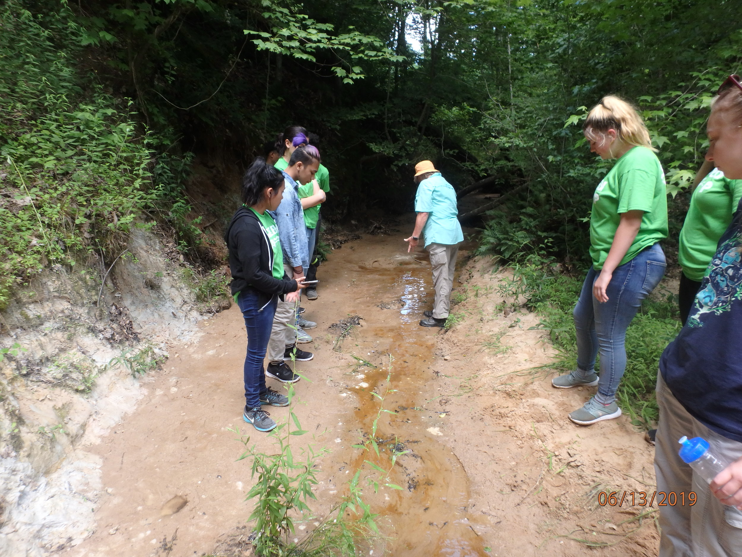 Day 4: Pinecrest Camp, Layers of the Aquifer