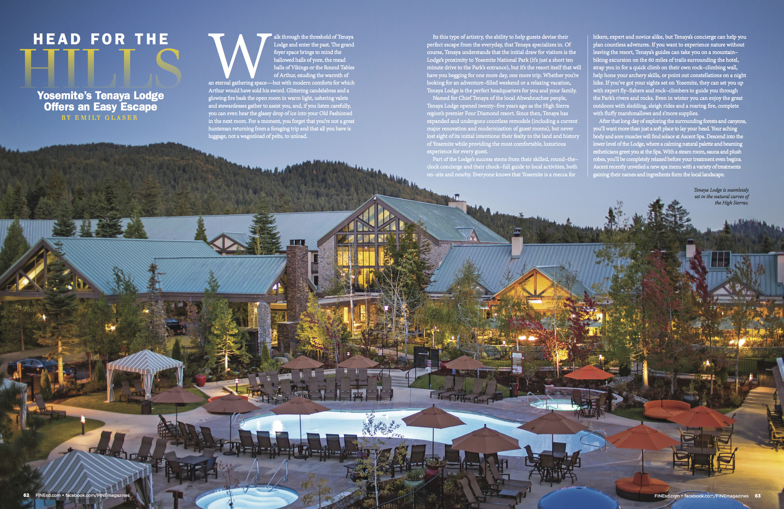 Head for the Hills: Yosemite's Tenaya Lodge Offers an Easy Escape