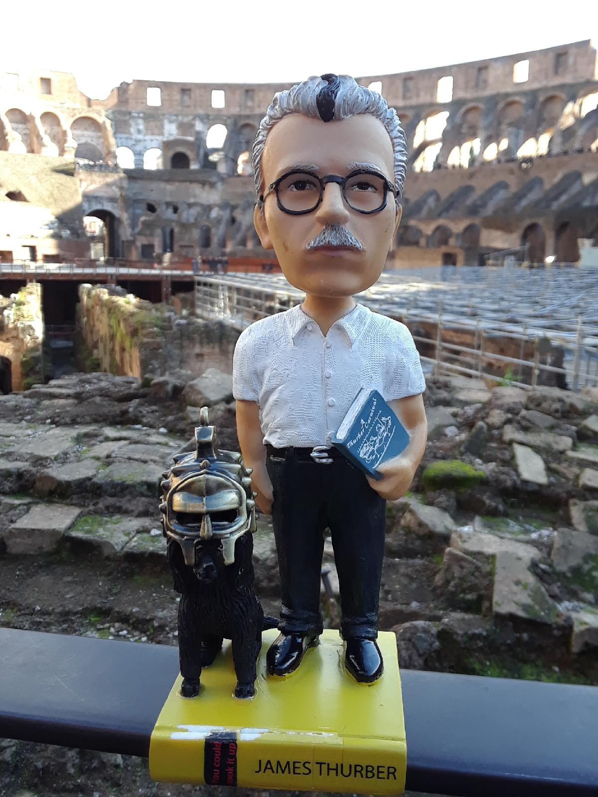 Where in the World Is James Thurber? Follow His Adventures on  Facebook ,  Twitter , and  Instagram !