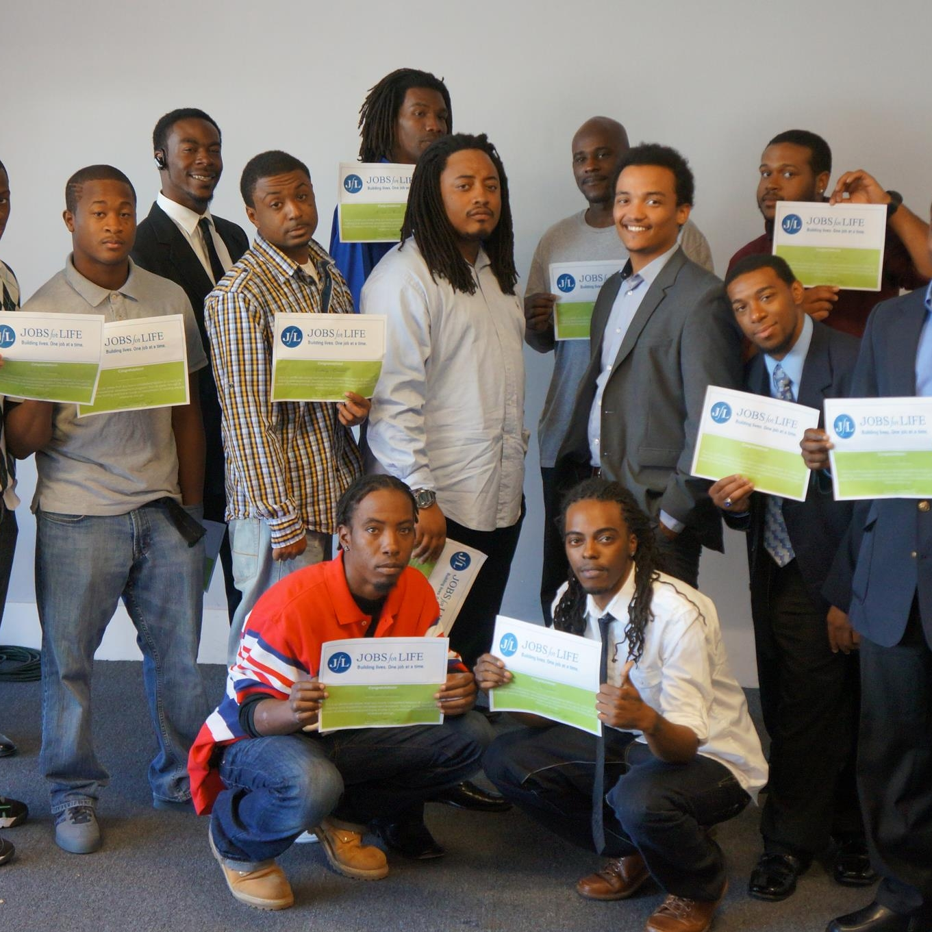 November 2012   First JLT (Jobs for Life) Graduation
