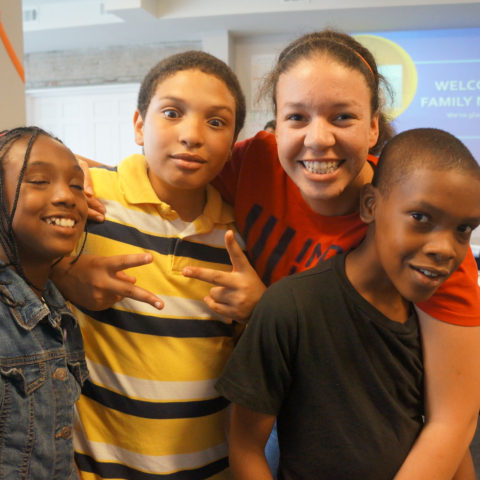 August 2012   Our first after school program starts at our ofice
