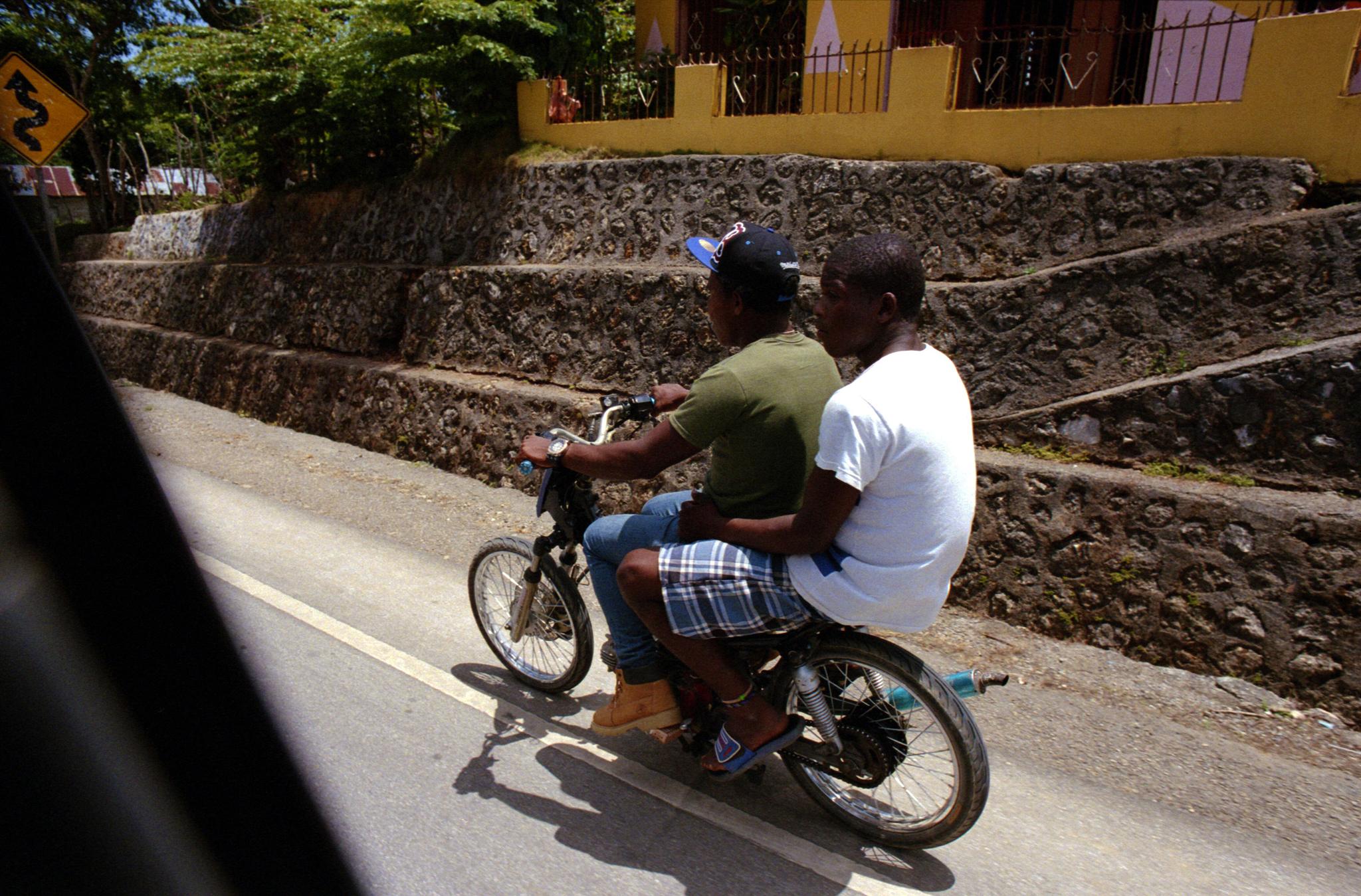 Motoconcho riders