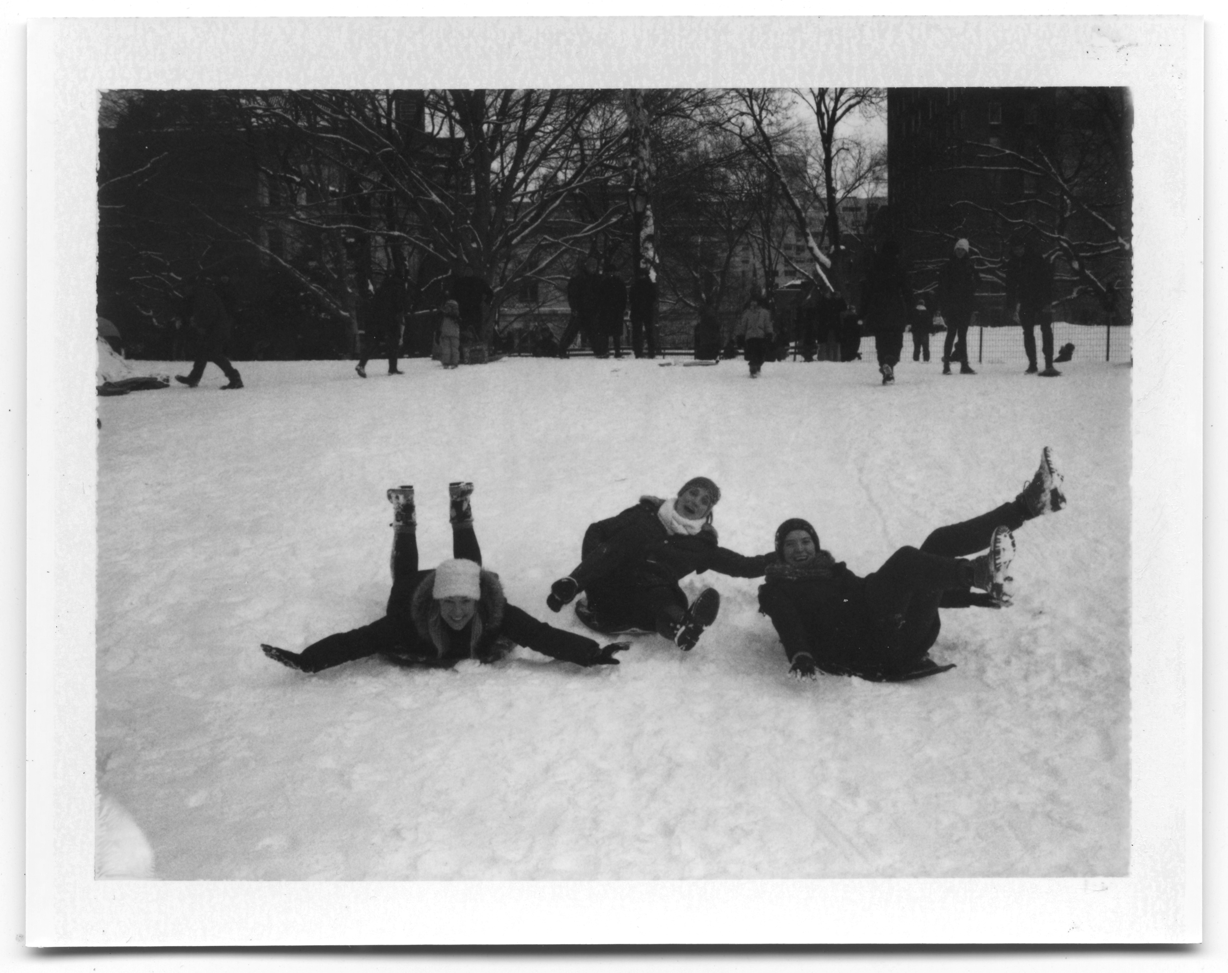 Polaroid Land 250. Fujifilm FP-3000b. January 2015