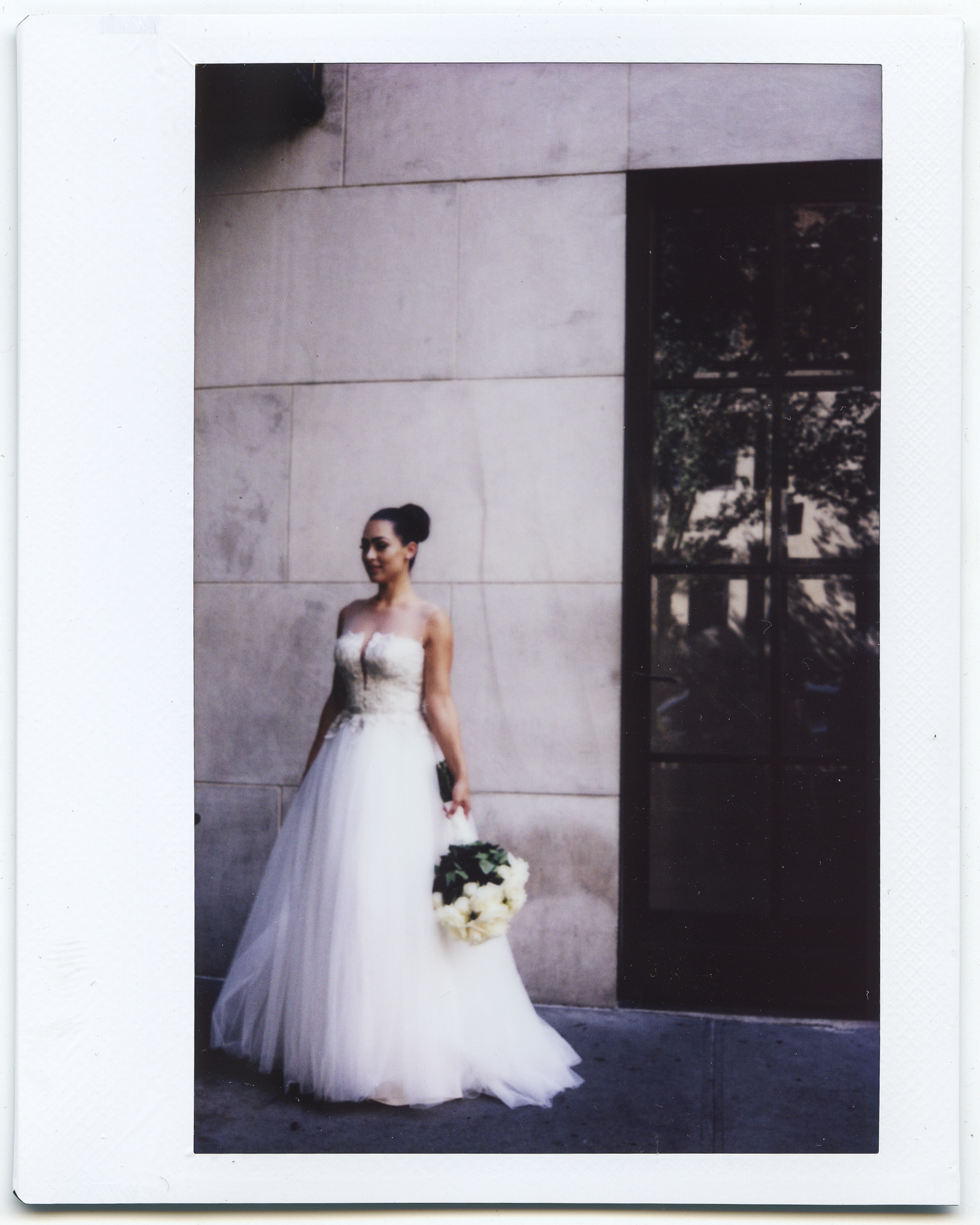 New York Manhattan wedding polaroid instax gramercy park hotel