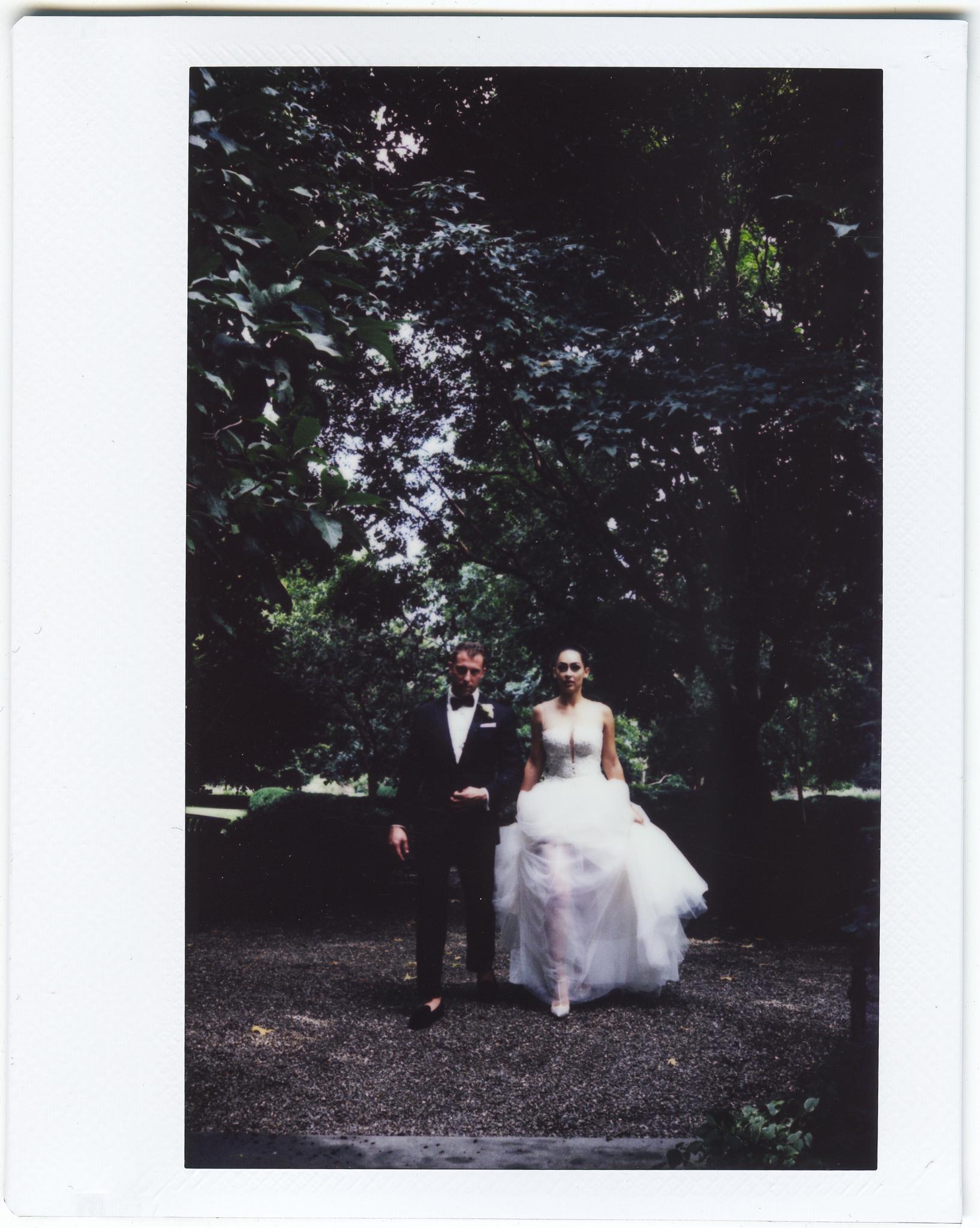 gramercy park hotel wedding polaroid instax