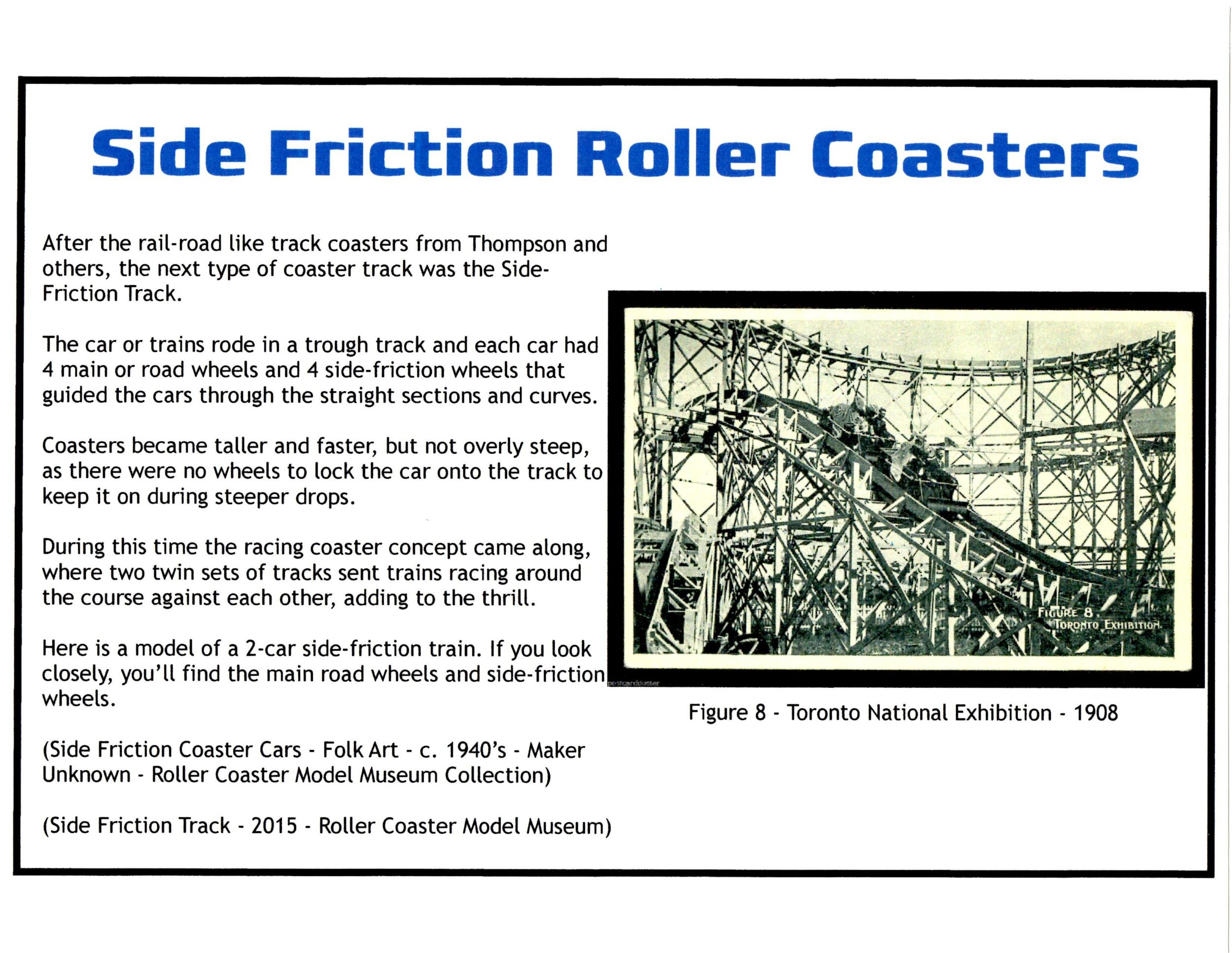 Exhibit: Early Roller Coasters