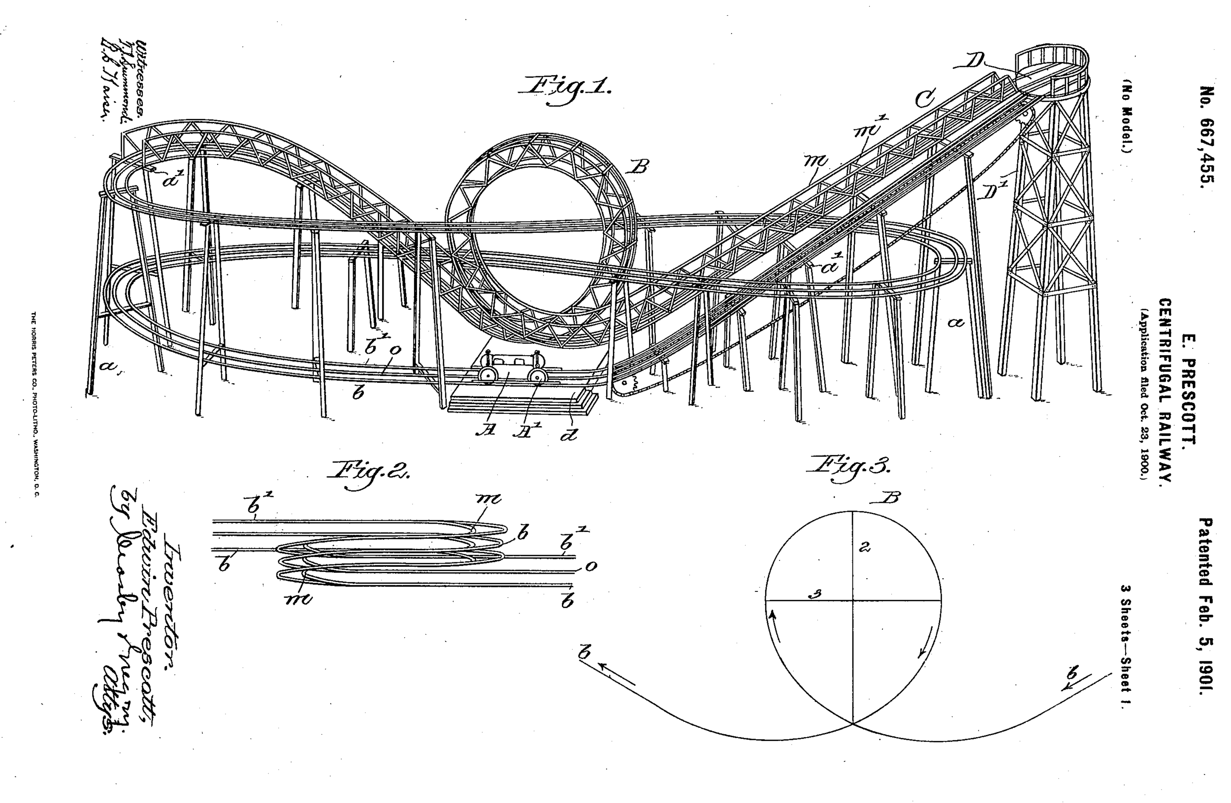 Exhibit: Early Roller Coasters - Loop the Loop