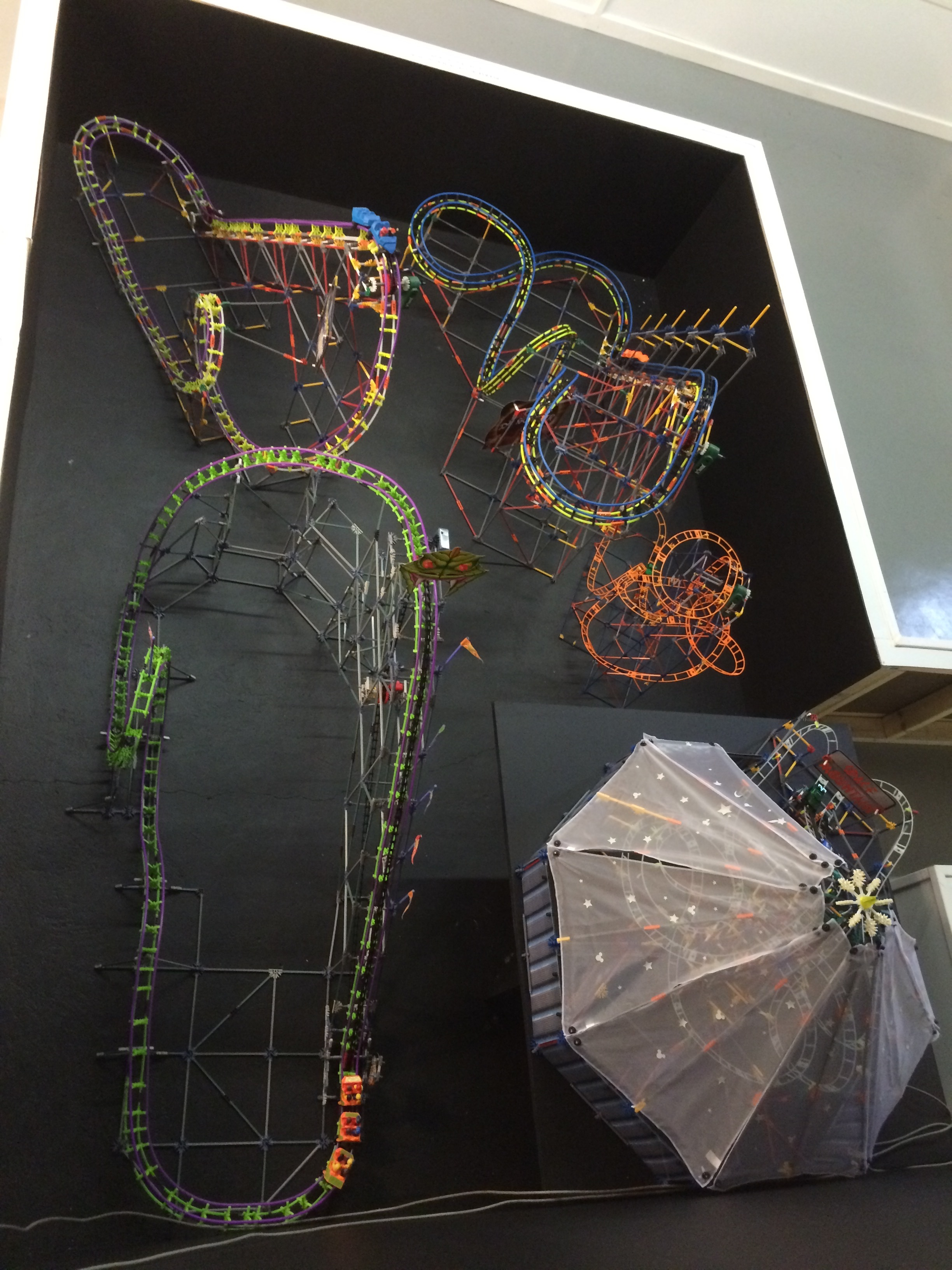 Exhibit: Playtime: Roller Coaster Toy Gallery - K'nex Roller Coasters