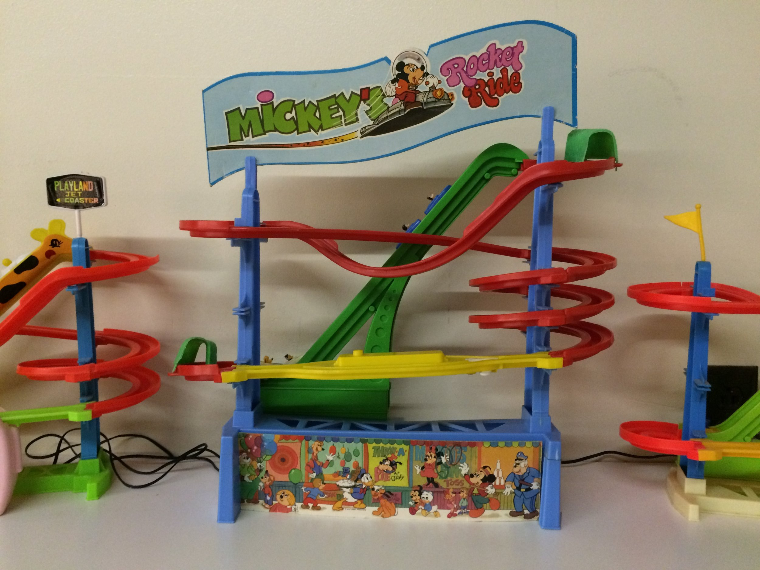 Exhibit: Playtime: Roller Coaster Toy Gallery - Illco Roller Coaster Jet Coasters