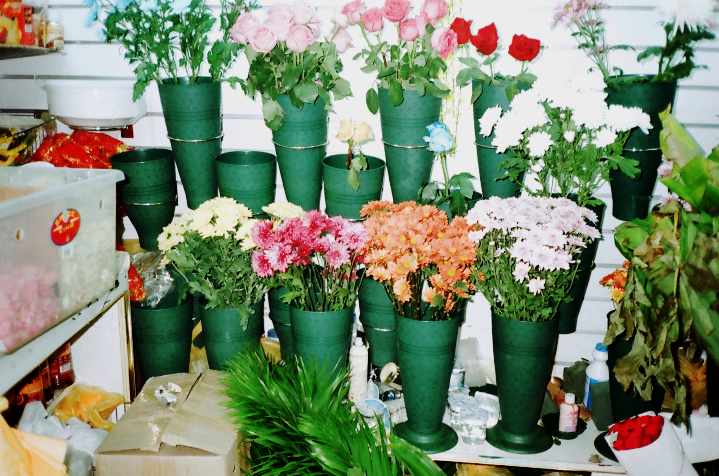 flowers in lil shops