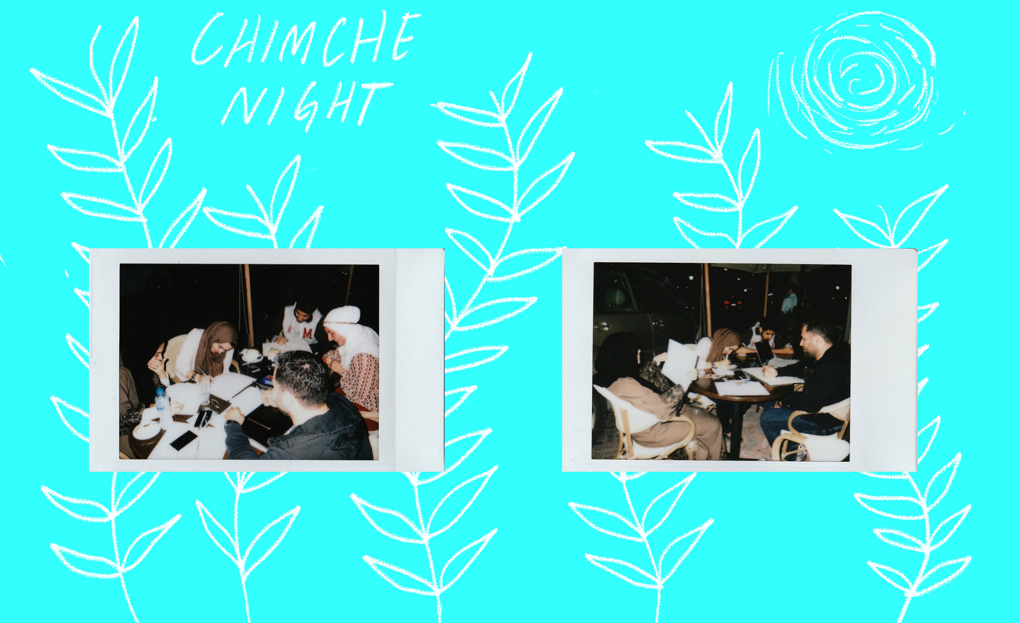 "very """"""candid"""""" photographs of the last chimche night of 2016"