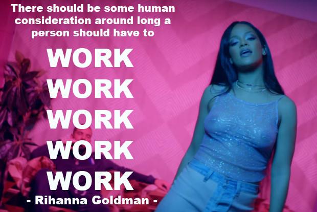 Rihanna Goldman , meme, 2016