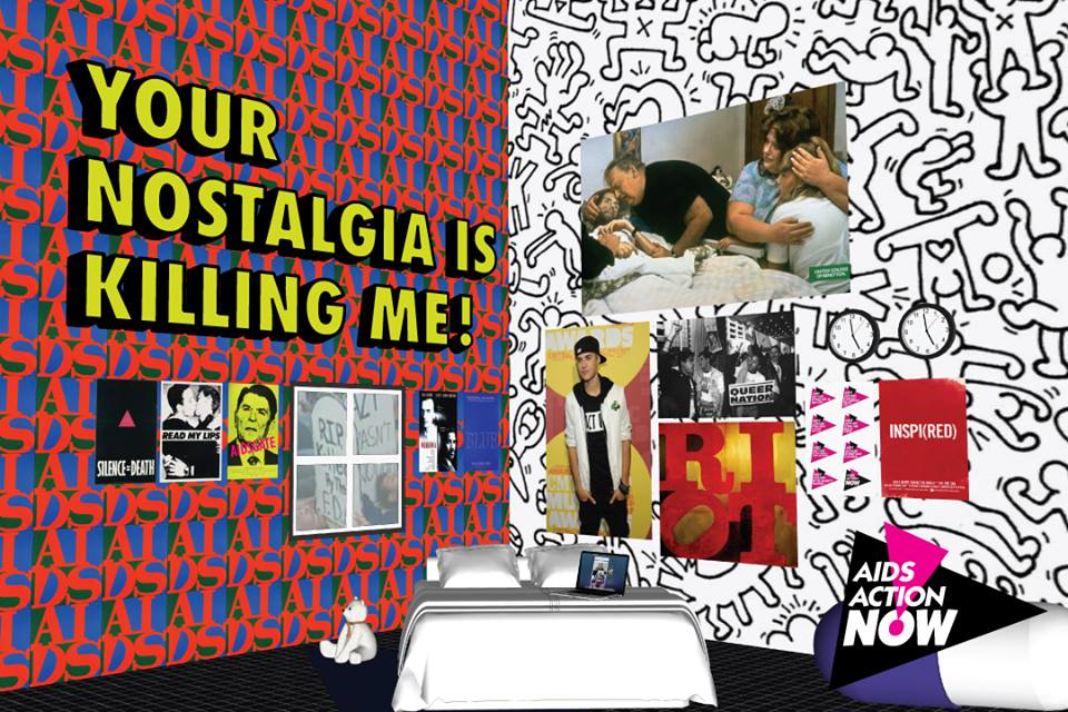 "YOUR NOSTALGIA IS KILLING ME AT THE NYPL:  In March 2014, while working at Visual AIDS, we partnered with the New York Public Librarya conversation and public forum around the issues of nostalgia, art, AIDS and representation with artists, writers, activists, and other members of the public. The event began with a discussion between ""Your Nostalgia Is Killing Me"" poster creators Vincent Chevalier and Ian Bradley-Perrin, along with artist Avram Finkelstein, and writer John Weir. The event was moderated by Patrick ""Pato"" Hebert based on a format designed by himself and organizer/activist Tamara Oyola Santiago in discussion with Visual AIDS. The panel discussion was followed by small group break out sessions (facilitated by Oyola Santiago, Brittany Duck, Ella Boureau, and Ted Kerr) and then expanded into a large group discussion. Both the panel and large group discussion were recorded, which you can watch on    YouTube   .   MORE INFO and RELATED WRITING  ."