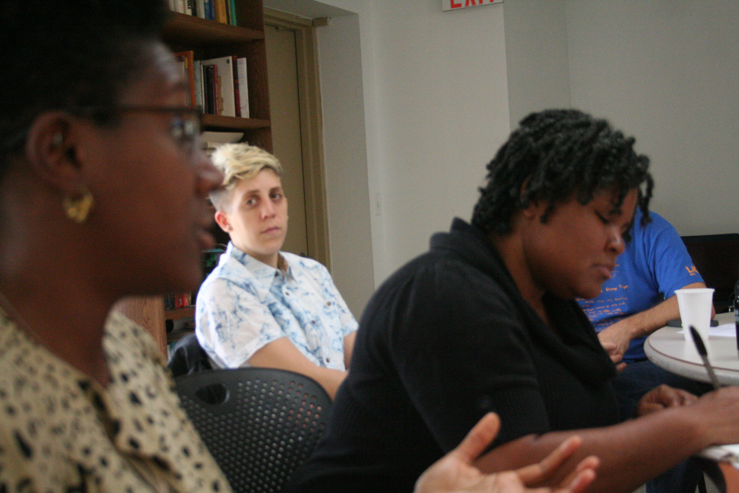 WHAT WOULD AN HIV DOULA DO?:  A collective of folks joined in response to the ongoing AIDS Crisis who understand a doula is someone in community who holds space for others during times of transition. For us, HIV is a series of transitions in someone's life that does not start with with being tested nor end with getting on treatment or death. Foundational to our process is asking questions. Proud to be a founding member.    MORE INFO