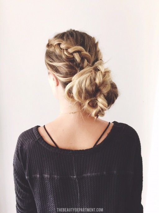 Easy updo hairstyle! We like these options!