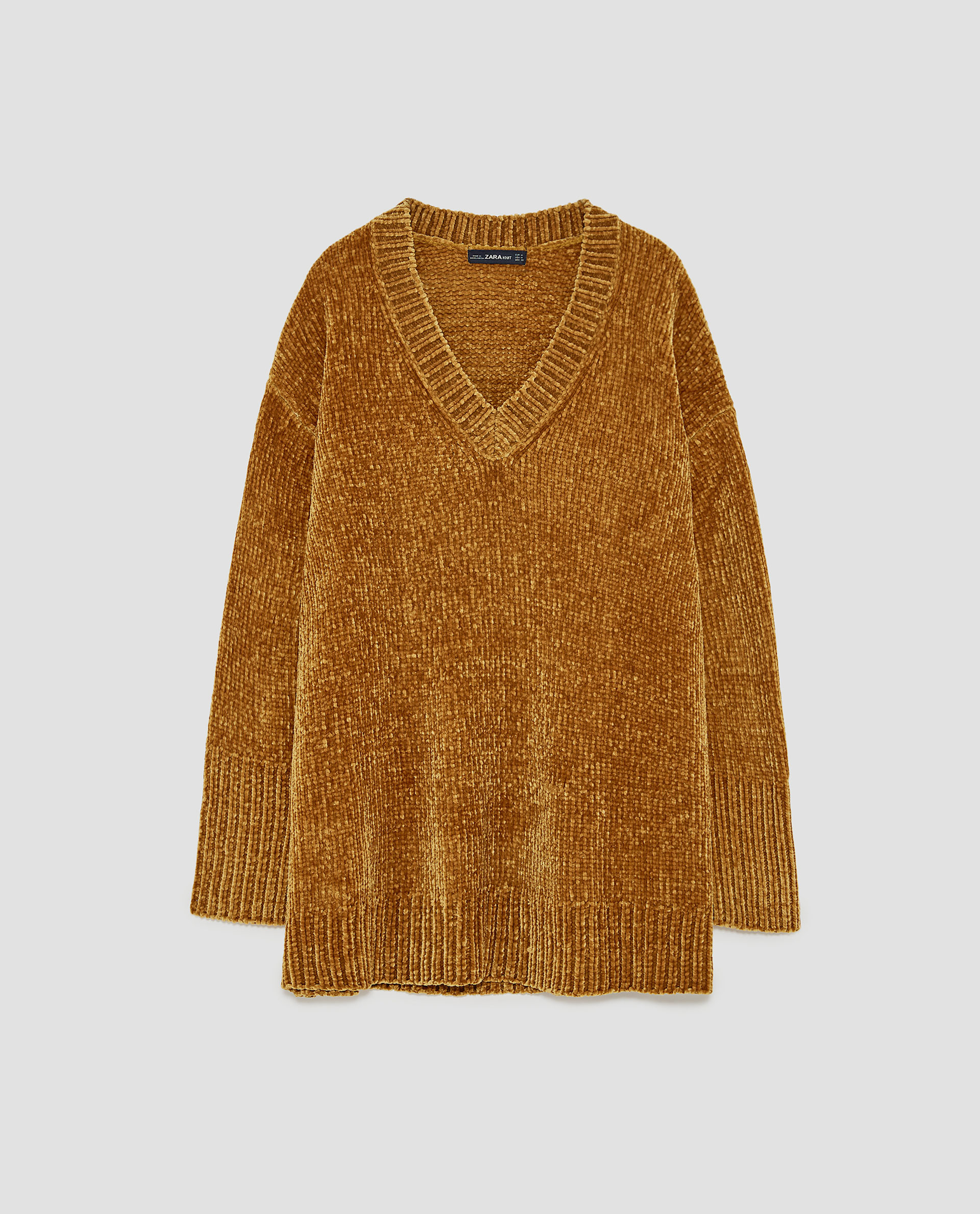 OVERSIZED CHENILLE SWEATER - 49.90 CAD