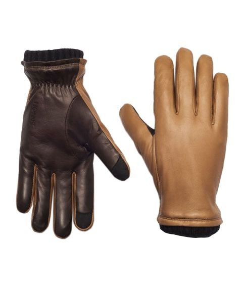 Touchscreen leather gloves - 99.00 USD