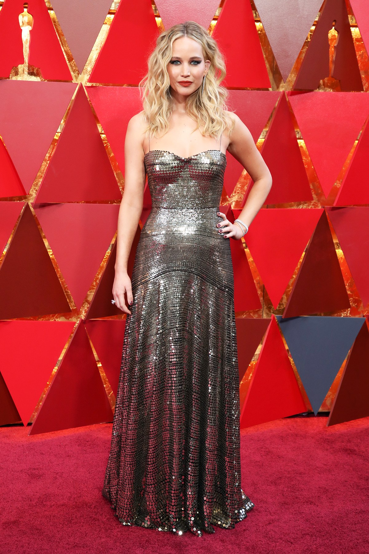 Needs no introduction but Jennifer Lawrence in Dior