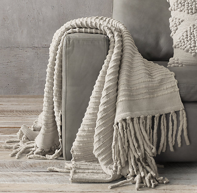 Restoration Hardware-Textured Merino Wool - 500 CAD for members