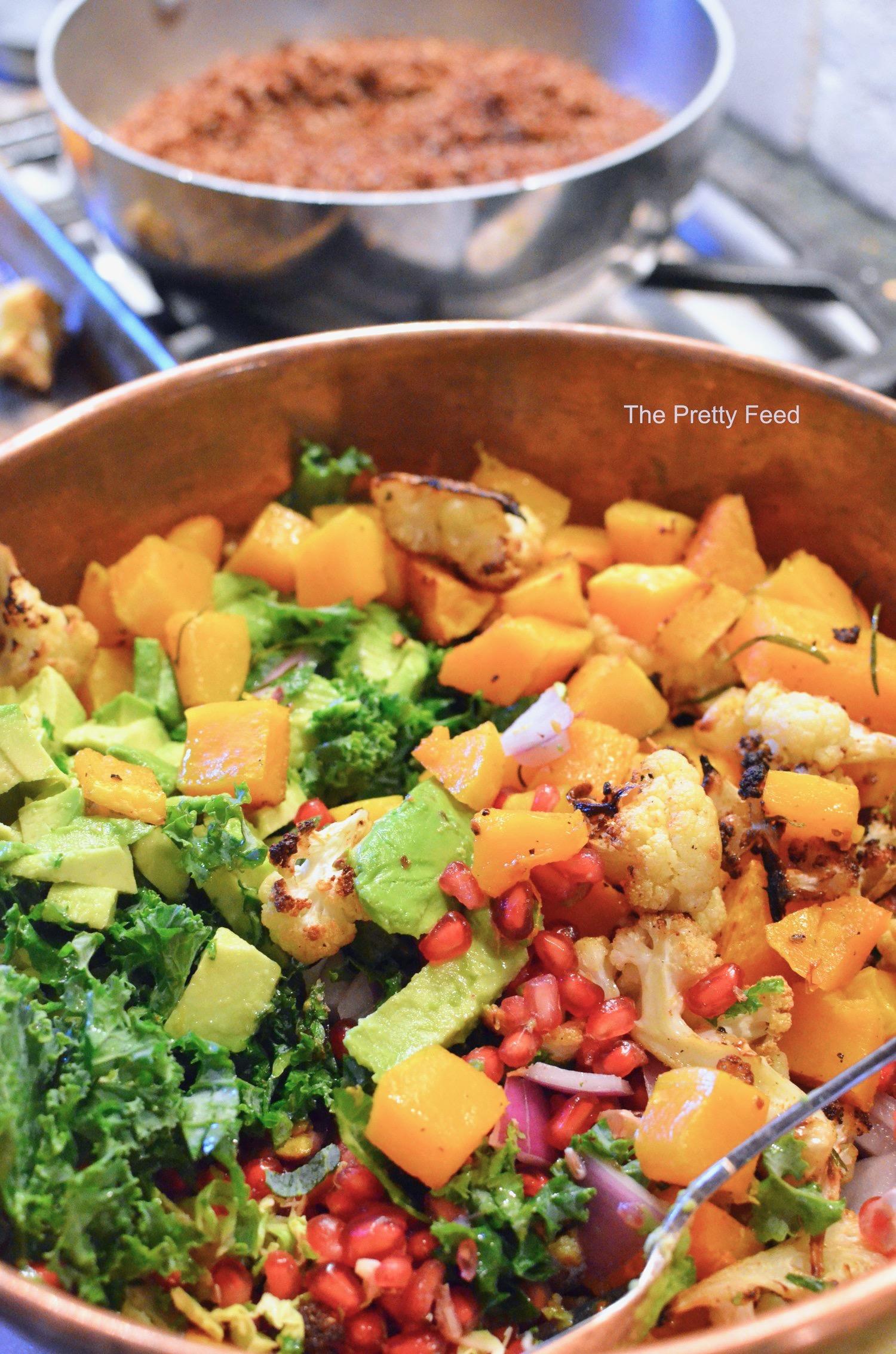 Moroccan Squash Salad