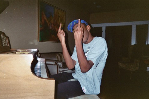 tyler the creator+middle fingers