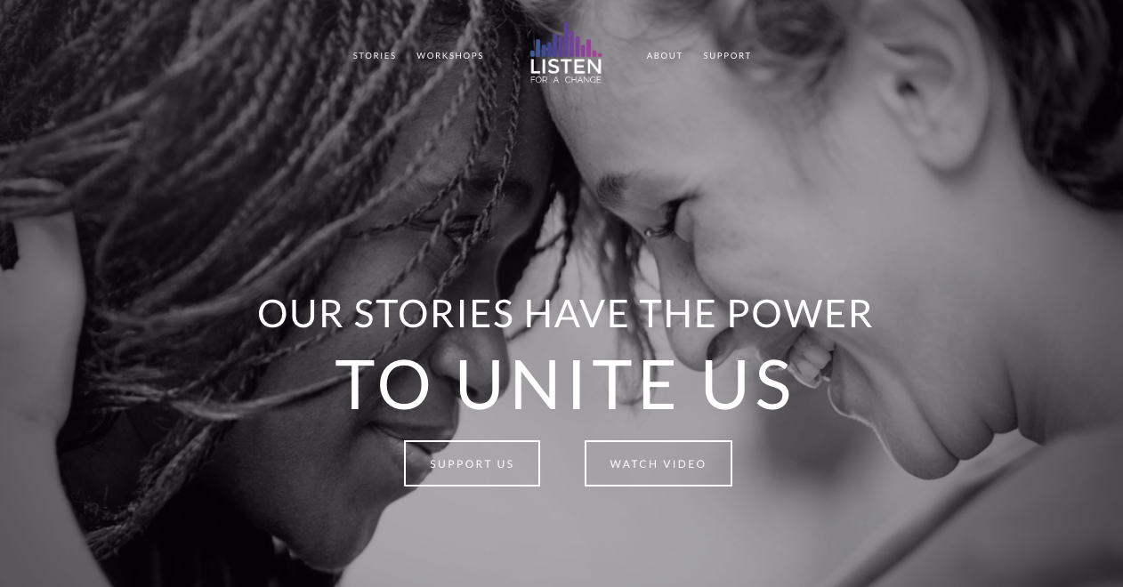 Bay Area 501(c)(3) Nonprofit Organization uses personal storytelling to bridge socio-political divides by creating a platform for marginalized voices.   — Digital & Social Media Marketing / Brand Development & Events Coordination