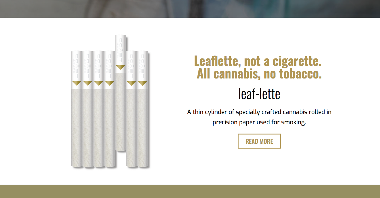 Cannabis Product & Manufacturing Company creates the Cannabis Preroll carefully crafted to celebrate the golden moment of the ambitious.   — Creative Direction / B2B Email Marketing / Social Media Management