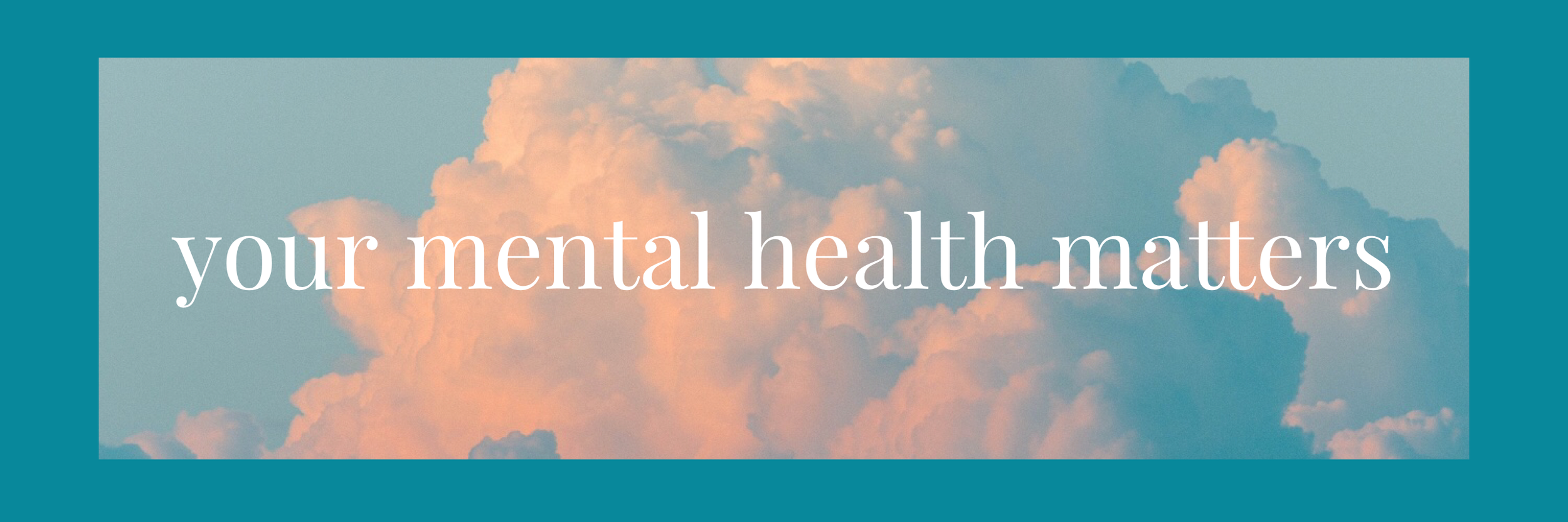 Your Mental Health Matters — Riverbend Community Church