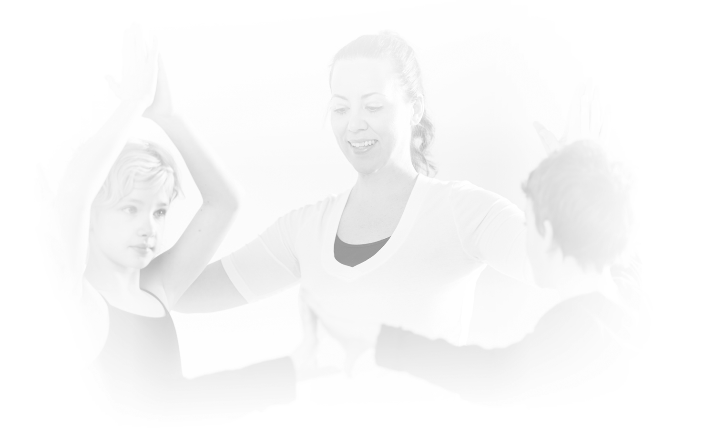 Maria Ferraro teaches yoga to kids