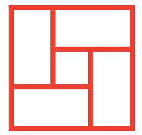 The Tatami Studio logo is based on the 2:1 ratio of tatami mats used in Japan. The configuration of the squares in the logo reflect the layout used in a traditional Japanese tea house.