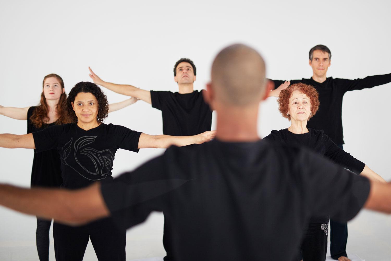 Ama Mann, Tatami Studio instructor, teaches yoga and meditation classes in Winnipeg.