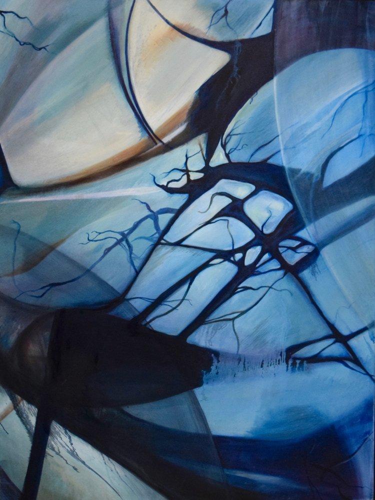 Luminosity, 2013,Oil on canvas