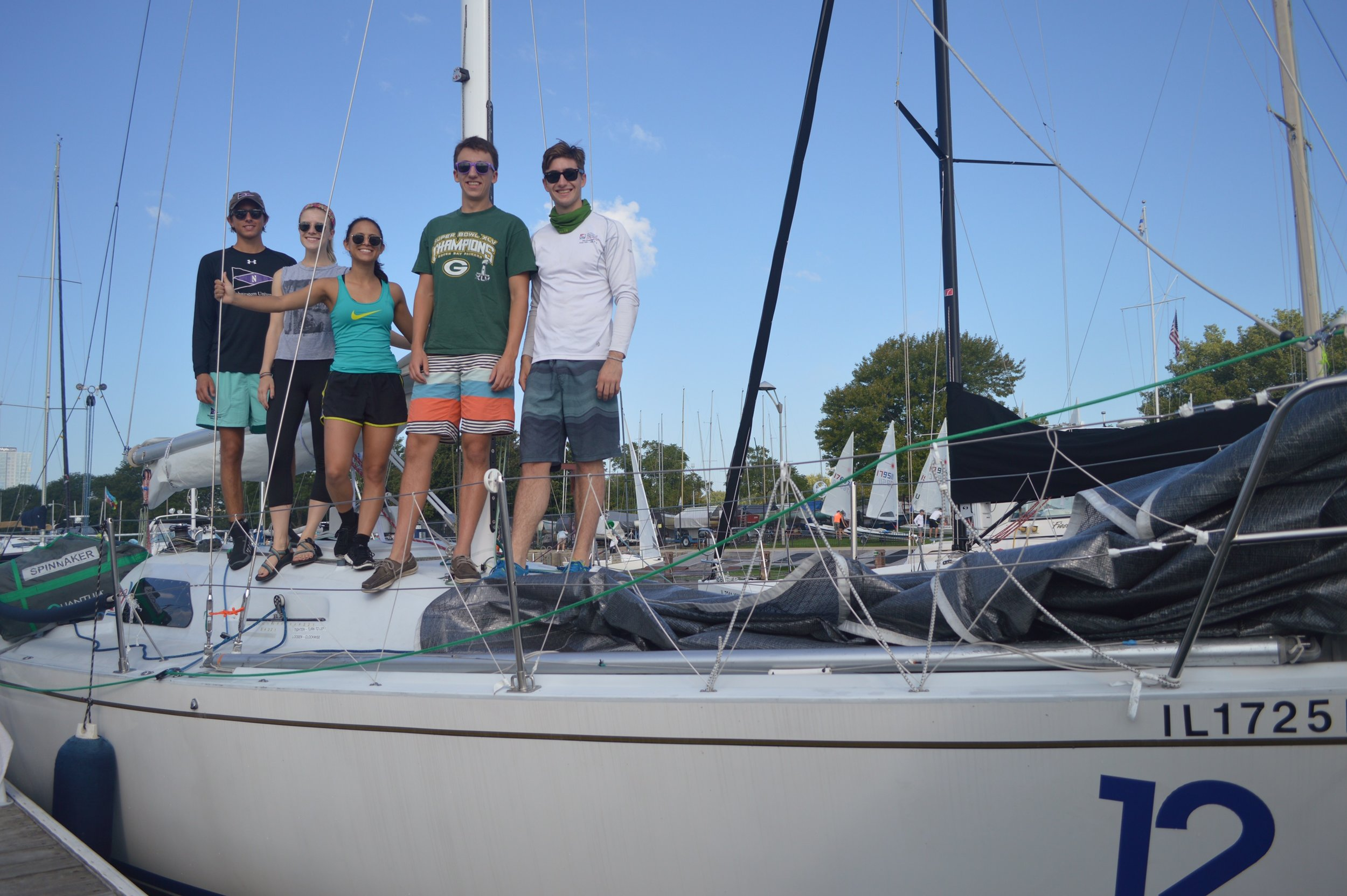 9/14-9/16Great Lakes IntercollegiateOffshore Regatta (GLIOR) - NUST had lots of fun at our local Chicago Corinthian Yacht Club sailing in offshore keelboats!