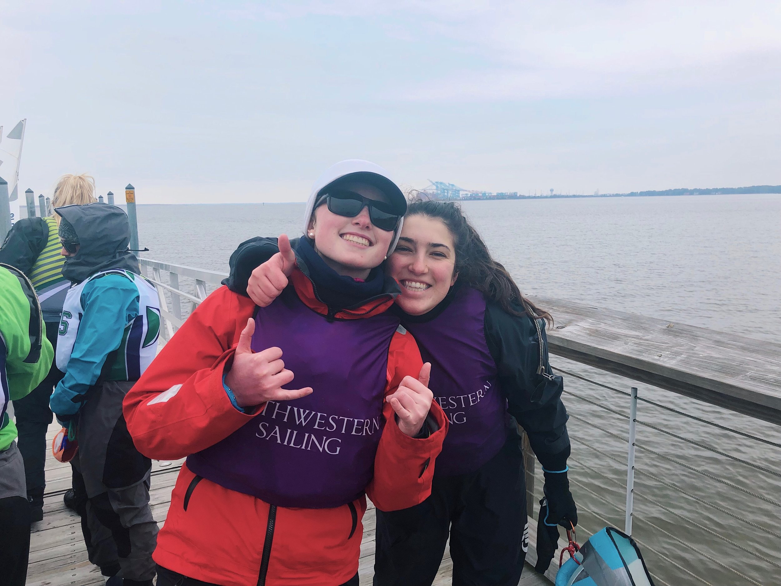 3/2-3/3 ODU Spring Women's - Sailing in Virginia was pretty challenging due to shifty conditions, but NUST ended with a strong 12th place finish.