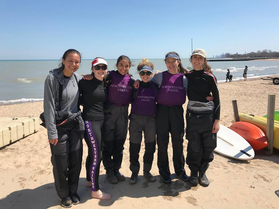 4/20-4/21 MCSA Women's Qualifiers - Our sailors won first place at Women's Qualifiers this weekend (hosted by Northwestern). The team qualified for nationals in Newport, RI on May 21-24!