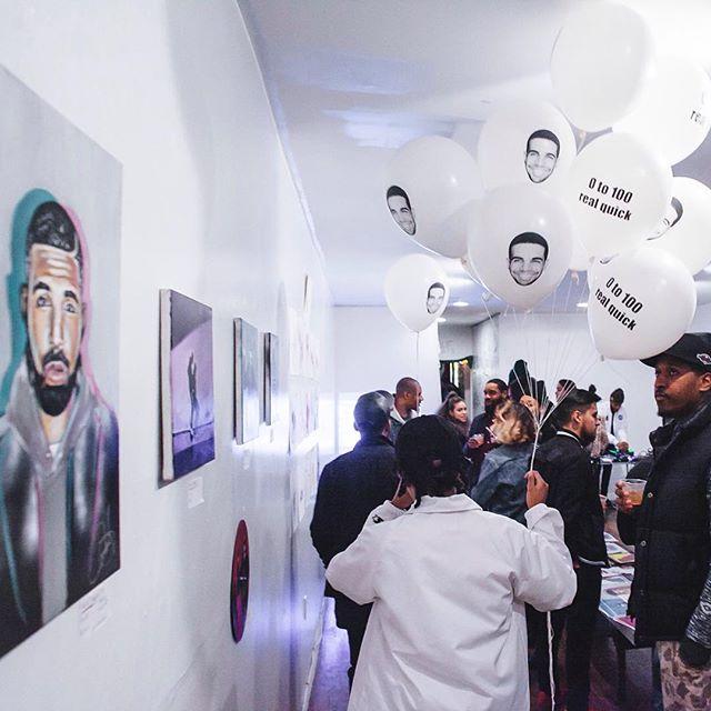 Drake lovers celebrate Drake's birthday at Drake Day Event