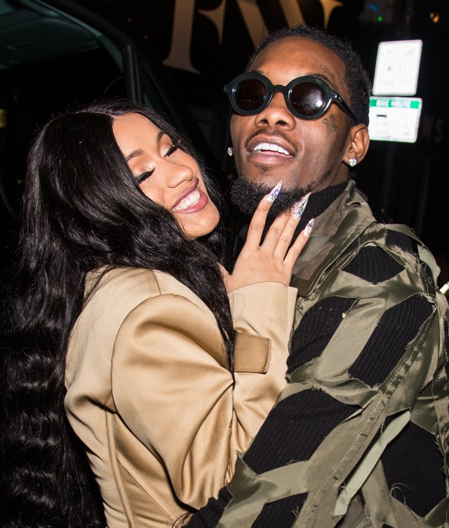 Cardi B and fiancé Offset