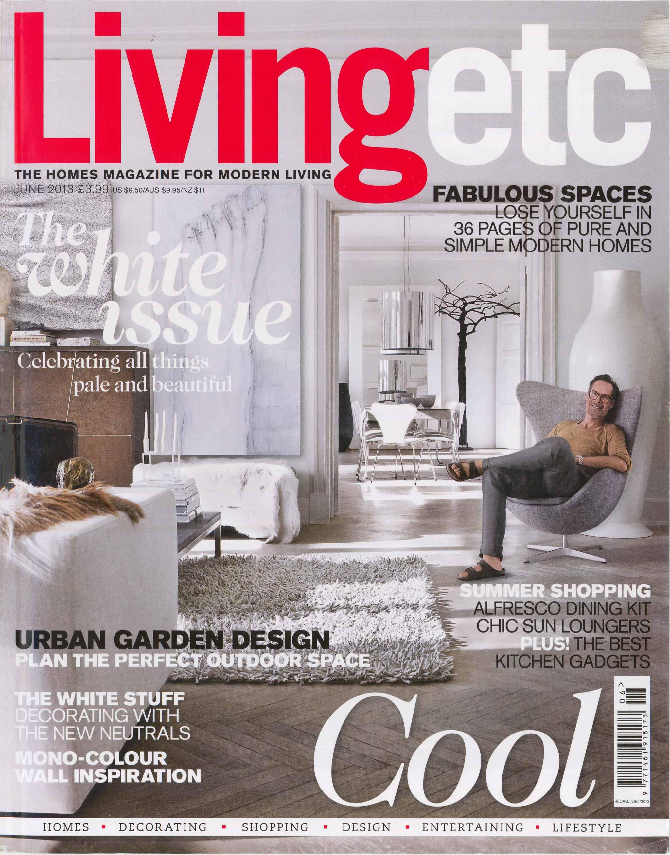 Living Etc - Illustration for Caz Myers Design