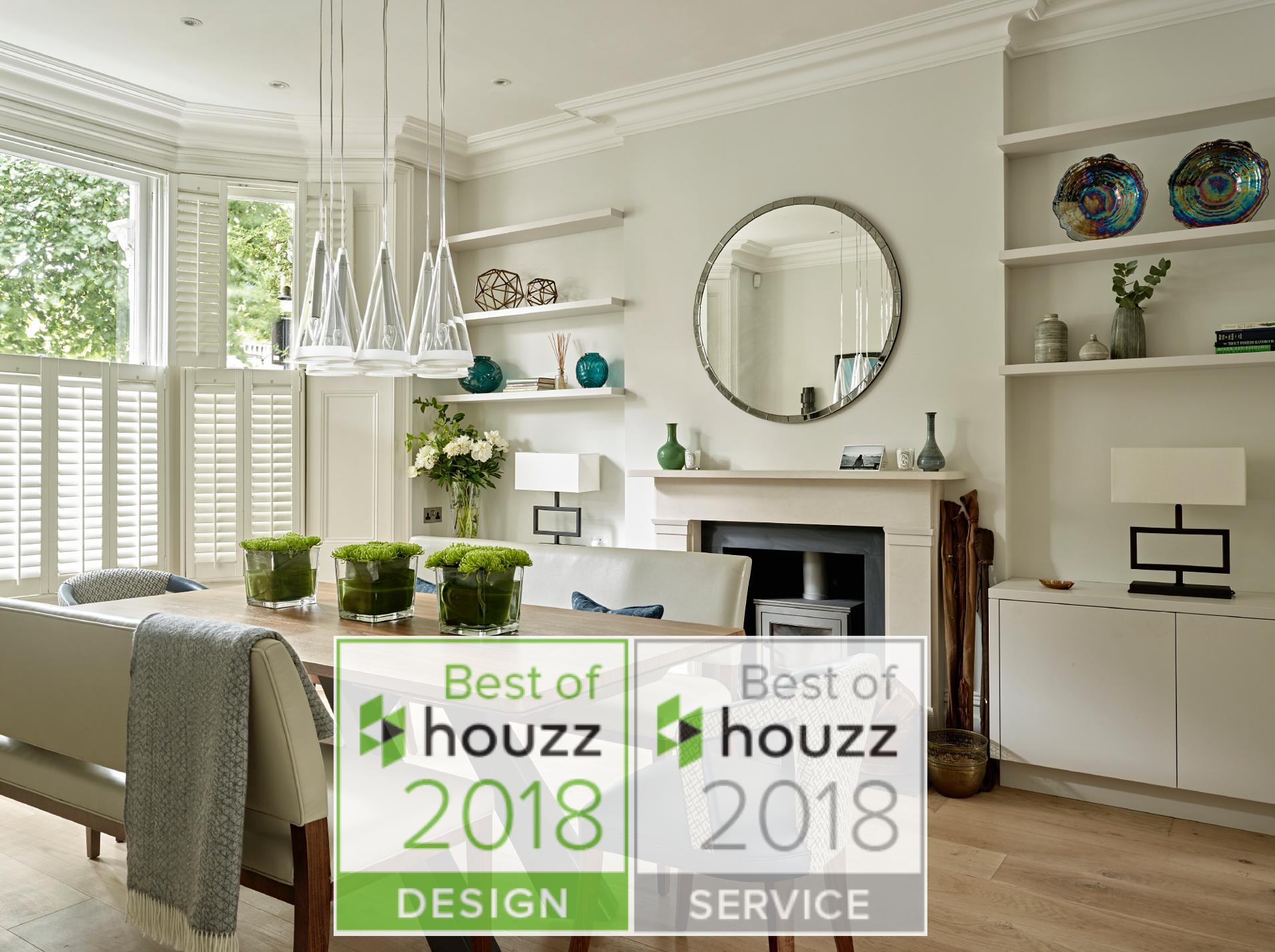 Best of Houzz 2018 Design & Customer Service Awards Winner
