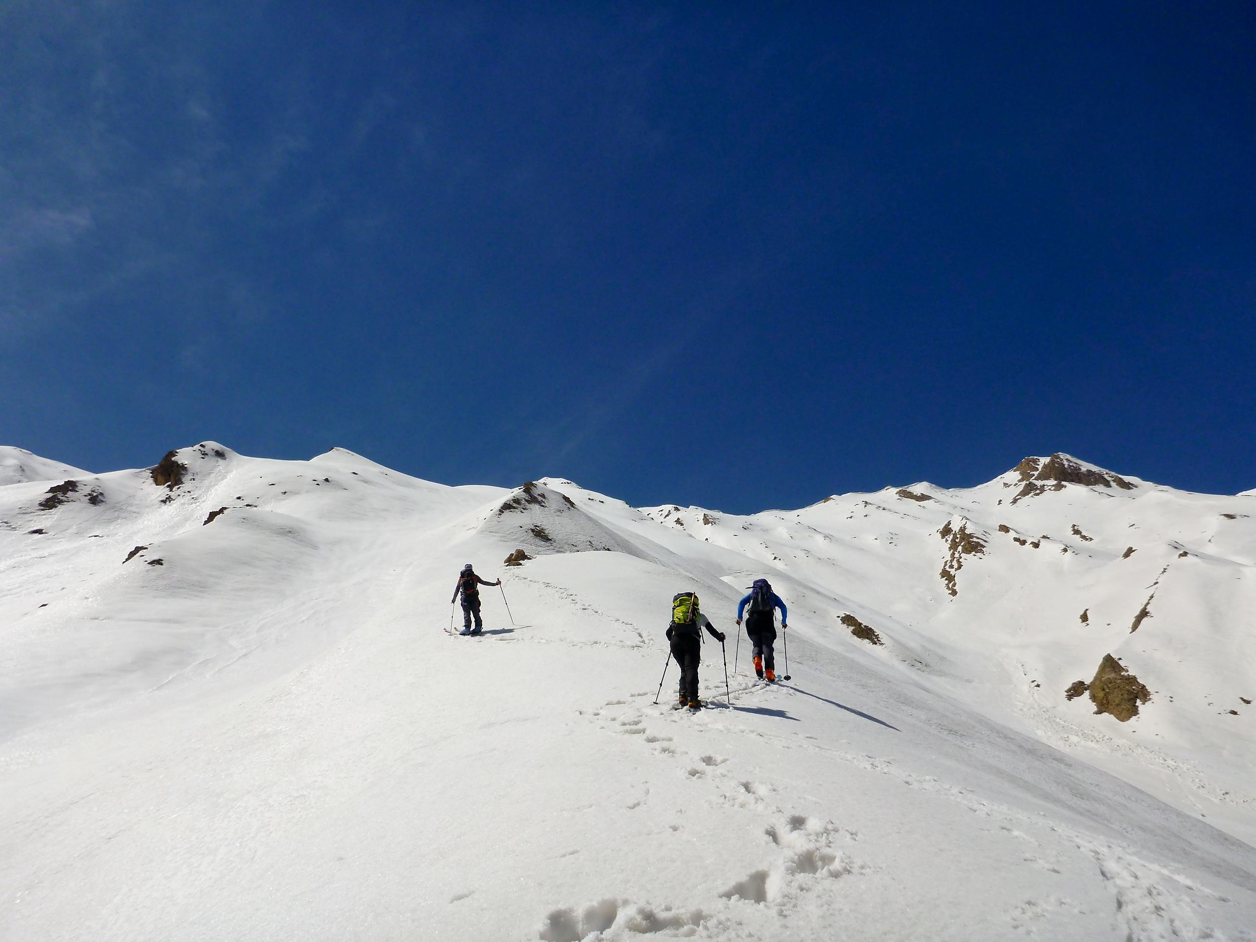 Ski touring in Alborz