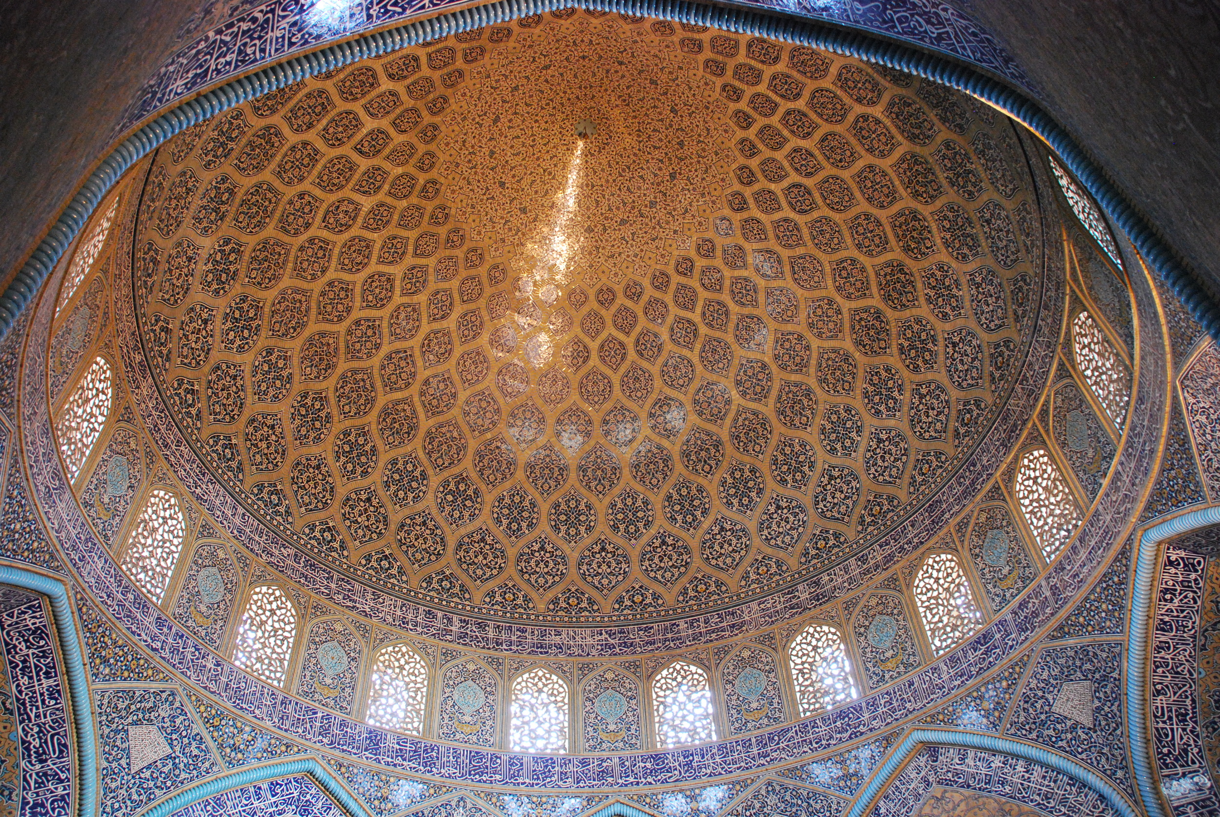 Inside Sheikh Lotfollah Mosque - Naghsh-e Jahan Square, Isfahan