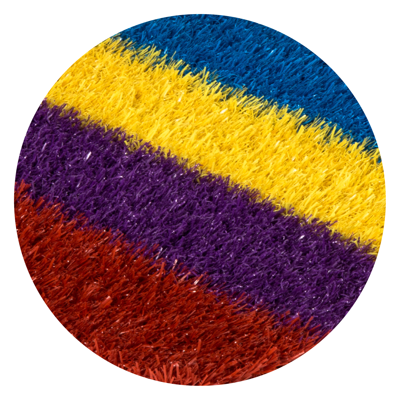 COLOURED TURF