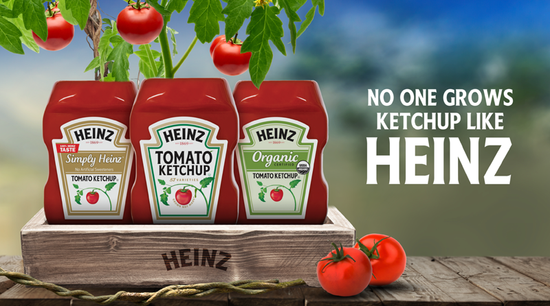 Kraft-Heinz - A family brand with a strong cultural following.3D-Animation, Print