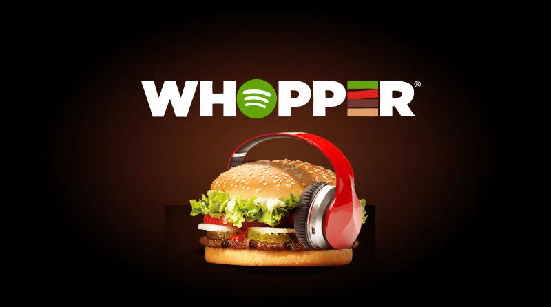 """""""Whopper Playlist"""" / Spotify Radio"""