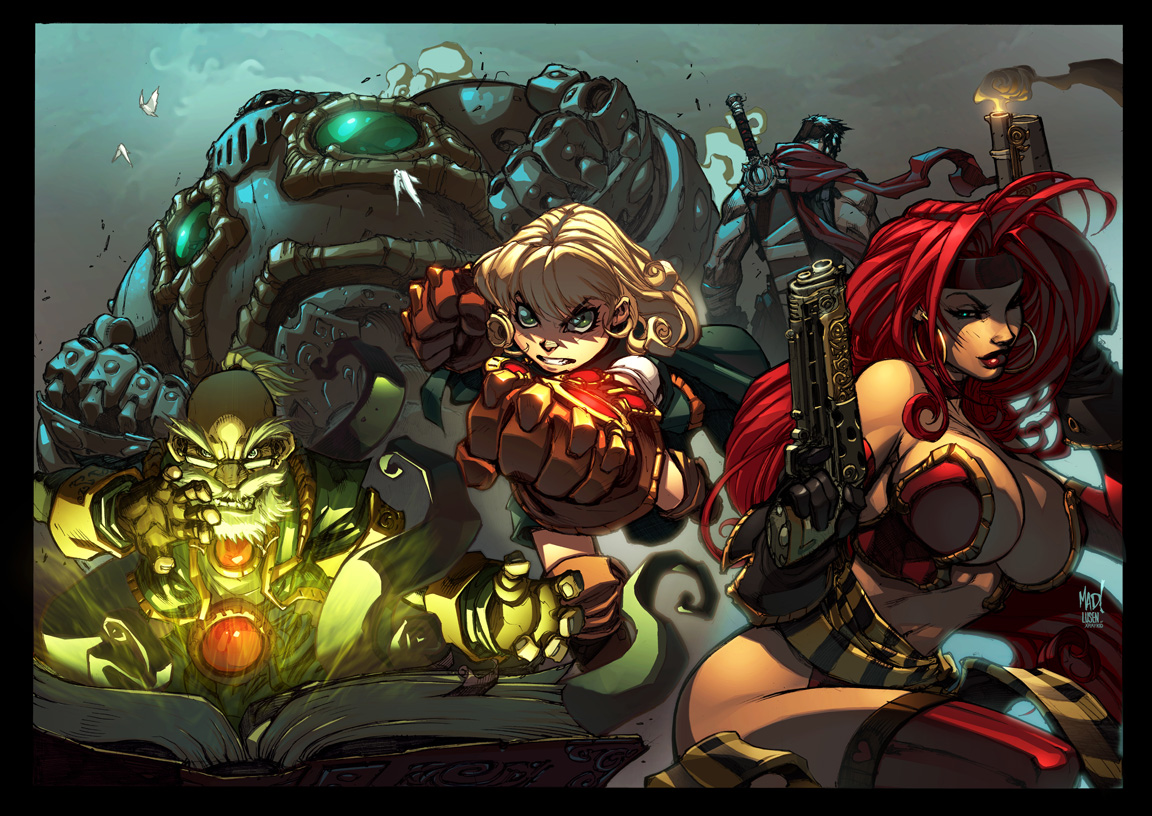 Battle Chasers Poster