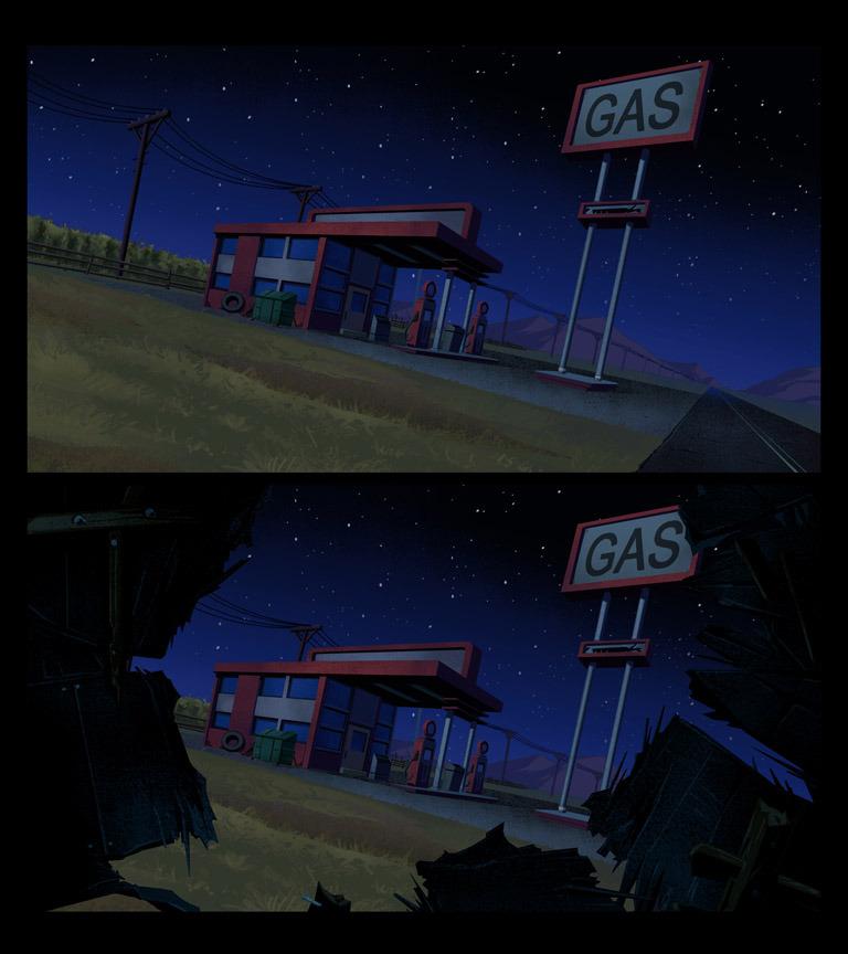 Ben 10: Gas Station