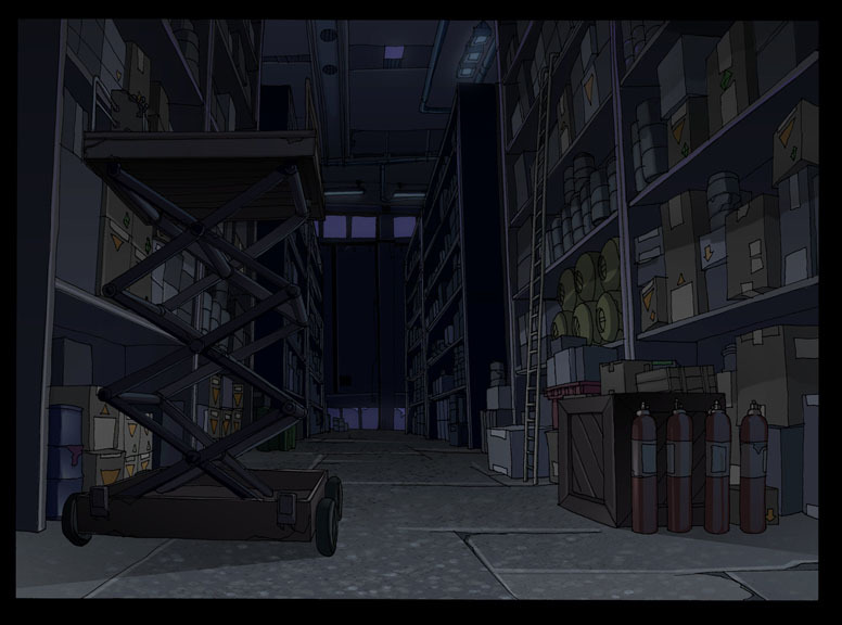 The Batman: Warehouse